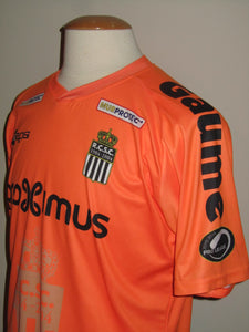 RCS Charleroi 2015-16 Away shirt MATCH WORN #28 Enes Saglik