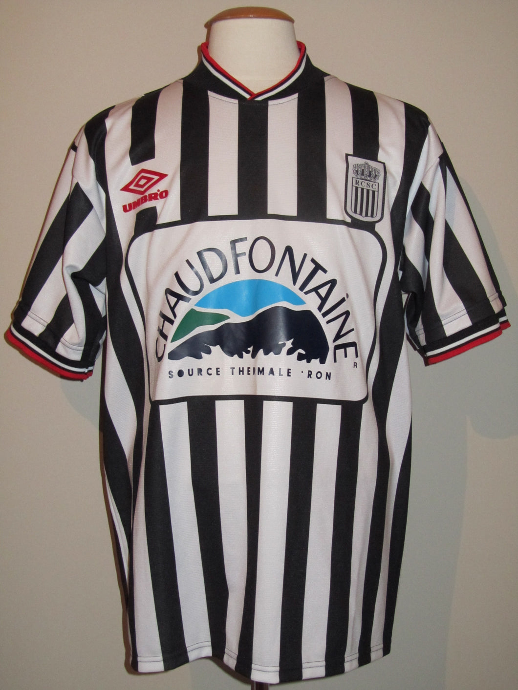 RSC Charleroi 2000-01 Home shirt #26 Francesco Quaglia
