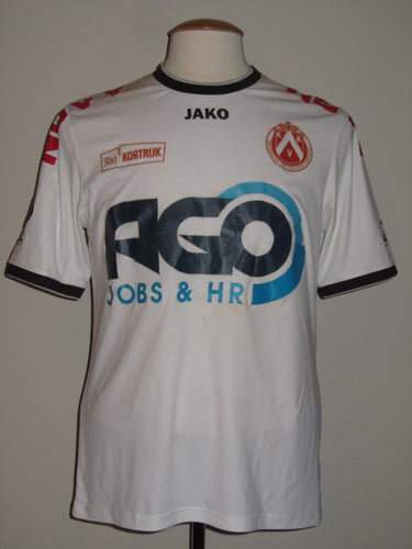 Kortrijk KV 2014-15 Away shirt MATCH WORN #14 Landry Mulemo