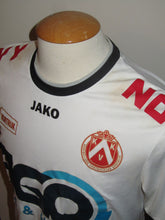 Load image into Gallery viewer, Kortrijk KV 2014-15 Away shirt MATCH WORN #14 Landry Mulemo