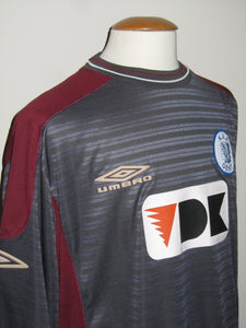 KAA Gent 2001-02 Away shirt MATCH WORN #9 Sasa Gajser