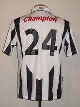Load image into Gallery viewer, RSC Charleroi 2009-10 Home shirt MATCH WORN #24 Gregory Christ