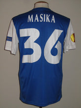 Load image into Gallery viewer, KRC Genk 2013-14 Home shirt MATCH WORN Uefa League #36 Ayub Masika