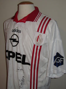 Standard Luik 1996-97 Away shirt MATCH WORN #7 Guy Hellers