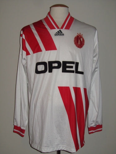 Standard Luik 1993-94 Away shirt MATCH WORN Europa Cup II #15