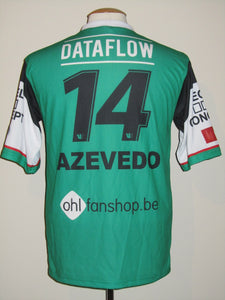 Oud-Heverlee Leuven 2013-14 Away shirt MATCH WORN #14 Thomas Azevedo