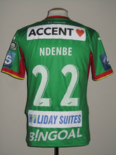 Load image into Gallery viewer, KV Oostende 2017-18 Home shirt MATCH WORN #22 Logan Ndenbe