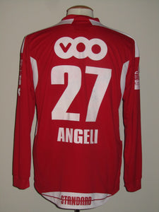Standard Luik 2009-2010 Home shirt MATCH WORN #27 Arnor Angeli