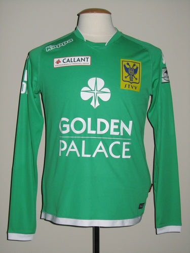 Sint-Truiden VV 2015-16 Goalkeeper shirt MATCH WORN #28 William Dutoit