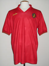 Load image into Gallery viewer, Rode Duivels 1992-93 home shirt MATCH WORN vs Romania Philippe Albert #4