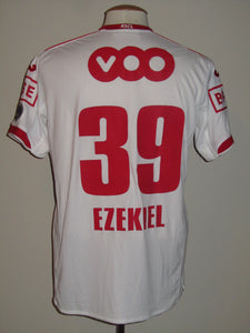 Standard Luik 2012-13 Away shirt MATCH WORN #39 Imoh Ezekiel