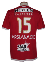Load image into Gallery viewer, Royal Antwerp FC 2018-19 Home shirt MATCH WORN #15 Dino Arslanagić
