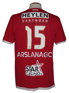 Royal Antwerp FC 2018-19 Home shirt MATCH WORN #15 Dino Arslanagić