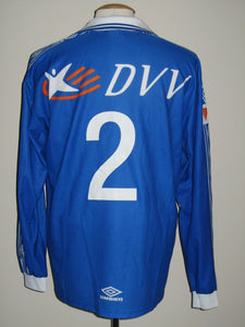 KAA Gent 1999-00 Home shirt match issued  #2