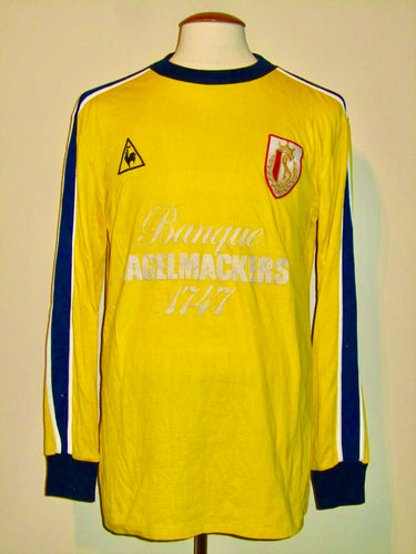 Standard Luik 1983-85 Goalkeeper shirt MATCH WORN #12 Gilbert Bodart