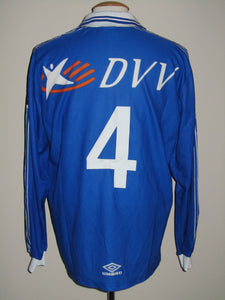 KAA Gent 1999-00 Home shirt player issue #4