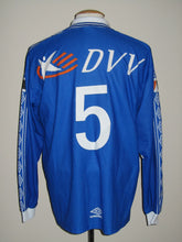 Load image into Gallery viewer, KAA Gent 1999-00 Home shirt match issued #5
