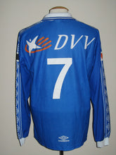 Load image into Gallery viewer, KAA Gent 1999-00 Home shirt match issued #7
