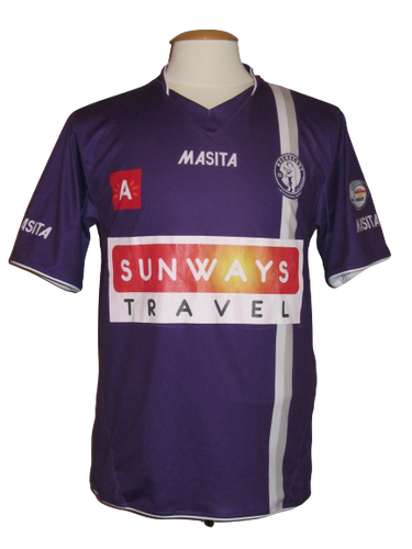 Beerschot AC 2012-13 Home shirt MATCH WORN #23 Funso Ojo