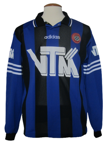 Club Brugge 1995-96 Home shirt MATCH ISSUE/WORN #15