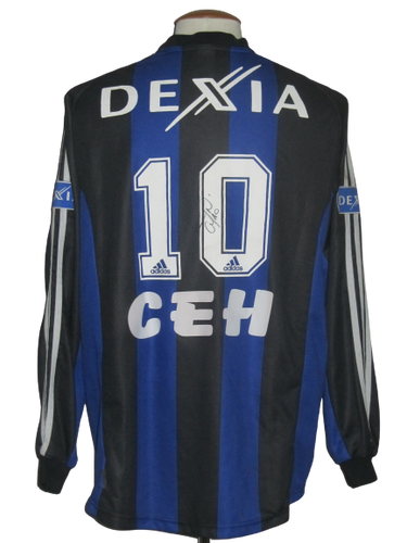 Club Brugge 2003-04 Home shirt MATCH ISSUE/WORN #10 Nastja Čeh
