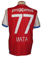 Load image into Gallery viewer, Club Brugge 2018-19 Away shirt MATCH ISSUE/WORN #77 Clinton Mata