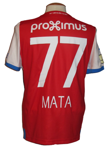 Club Brugge 2018-19 Away shirt MATCH ISSUE/WORN #77 Clinton Mata