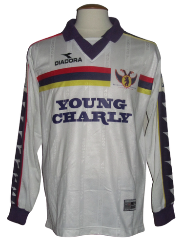 Germinal Beerschot 1999-00 Away shirt MATCH ISSUE/WORN #15