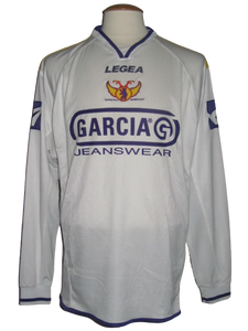 Germinal Beerschot 2004-05 Away shirt MATCH ISSUE/WORN #13