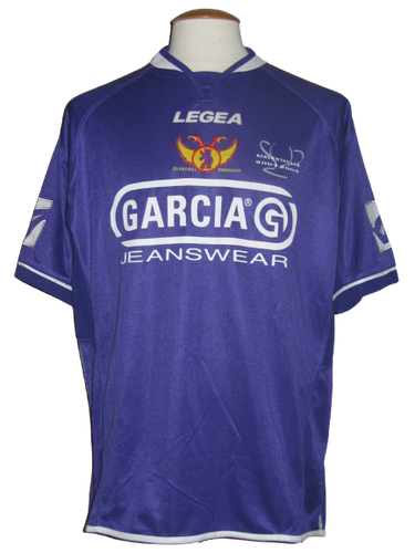 Germinal Beerschot 2005-06 Home shirt MATCH ISSUE #22 Brian Badza