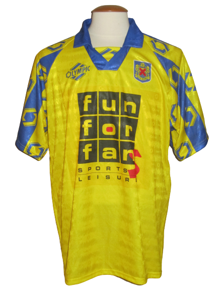 KSK Beveren 1996-97 Home shirt MATCH ISSUE/WORN #5