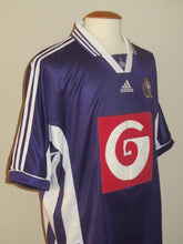 Load image into Gallery viewer, RSC Anderlecht 1998-99 Away shirt XL #10 Pär Zetterberg