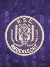 Load image into Gallery viewer, RSC Anderlecht 1989-92 Home shirt XL
