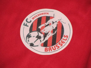 FC Brussels 2009-10 Home shirt MATCH ISSUE/WORN #14