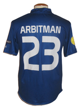 Load image into Gallery viewer, KAA Gent 2010-11 Home shirt MATCH ISSUE/WORN Europa League #23 Shlomi Arbeitman