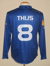 Load image into Gallery viewer, KAA Gent 2010-11 Home shirt PLAYER ISSUE Europa League #8 Bernd Thijs