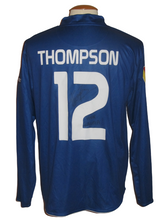 Load image into Gallery viewer, KAA Gent 2010-11 Home shirt MATCH ISSUE/WORN Europa League #12 Kenny Thompson