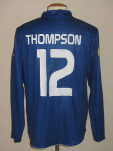 KAA Gent 2010-11 Home shirt MATCH ISSUE/WORN Europa League #12 Kenny Thompson