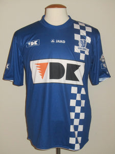 KAA Gent 2010-11 Home shirt MATCH ISSUE/WORN #4 Roy Myrie