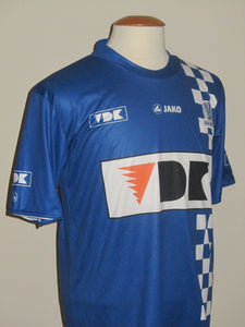 KAA Gent 2010-11 Home shirt MATCH ISSUE/WORN #13 Adriano Duarte