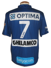 Load image into Gallery viewer, KAA Gent 2010-11 Home shirt MATCH ISSUE/WORN #7 Tim Smolders