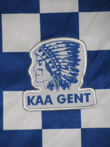 KAA Gent 2010-11 Home shirt MATCH ISSUE/WORN #8 Bernd Thijs
