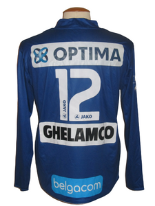 KAA Gent 2010-11 Home shirt MATCH ISSUE/WORN L/S #12