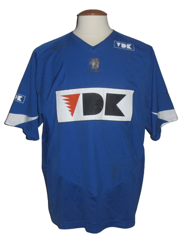 KAA Gent 2004-05 Home shirt MATCH ISSUE/WORN #14 Björn De Coninck