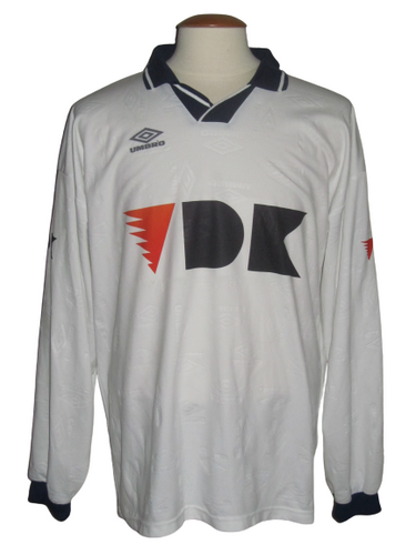 KAA Gent 1999-00 Away shirt MATCH ISSUE/WORN #24