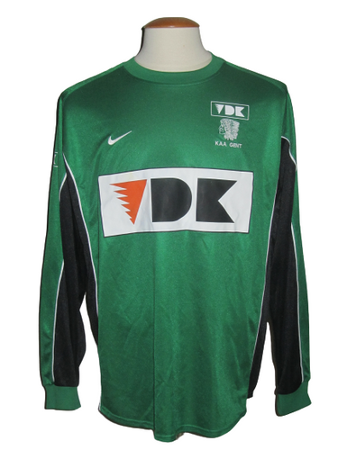 KAA Gent 2005-07 Keeper shirt MATCH ISSUE/WORN #1 Zlatko Runje