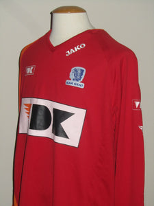 KAA Gent 2007-08 Keeper shirt MATCH ISSUE/WORN #23 Stijn Van Der Kelen