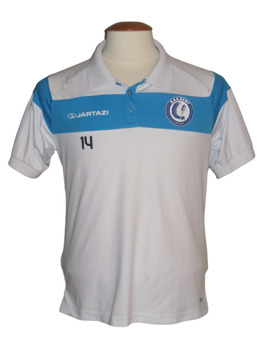 KAA Gent 2016-17 Polo PLAYER ISSUE #14 Sven Kums