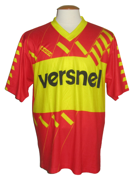 Germinal Ekeren 1989-90 Home shirt MATCH ISSUE/WORN #13