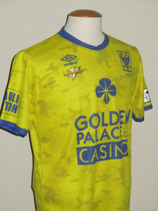Sint-Truiden VV 2018-19 Home shirt MATCH ISSUE/WORN #4 Pol Garcia Tena